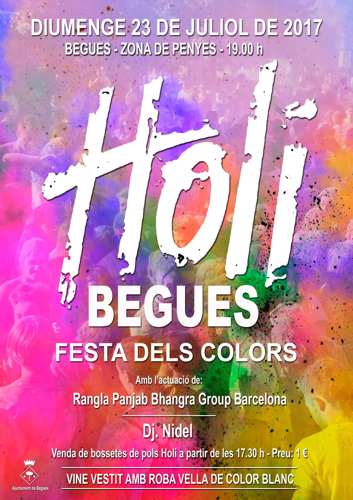 Holi Begues 2017